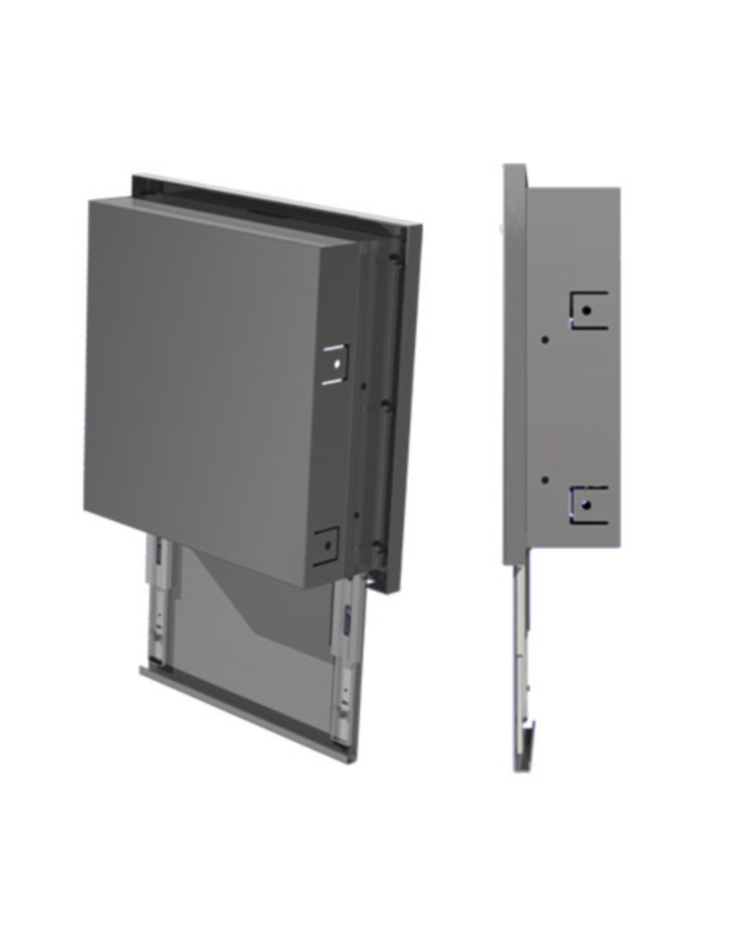 20700-WALLVAULT�Biometric Vault - Secure Logic Steel Fingerprint Wall Vault
