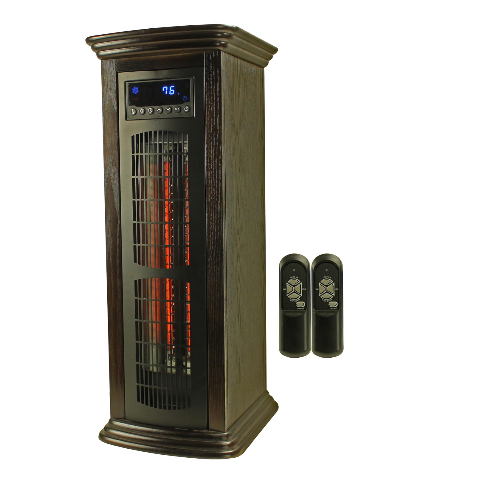 LifeSmart 1800 Sq Ft Infrared Quartz Tower Heater | LS-1003HH13