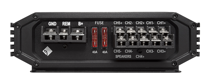 R600-5�ROCKFORD FOSGATE R600-5 600W 5-Channel Class-A/B Car Audio Amplifier