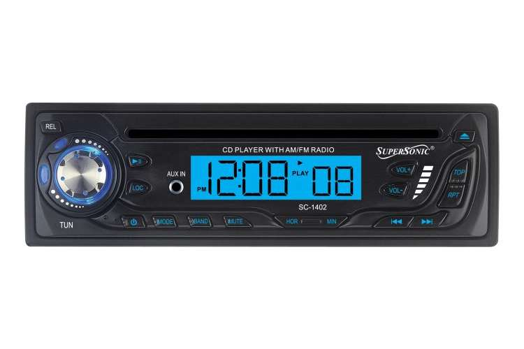 SC-1402�SUPERSONIC SC-1402 CD AM/FM Radio Car Audio Player