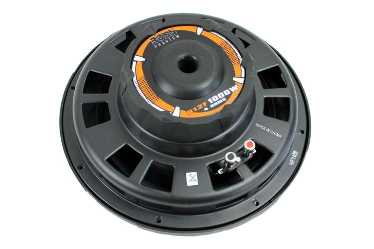 D12F�Boss Audio D12F 12-Inch 1000W Shallow Mount Subwoofer