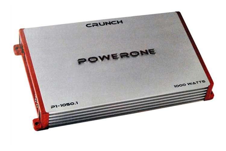 P110501�Crunch Powerone P1-1050.1 1000W Mono Amplifier