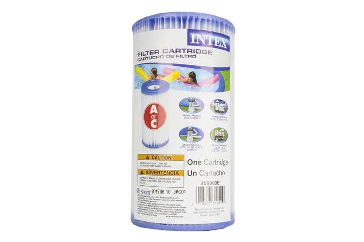 Intex type a easy set pool filter cartridge 18 pack - Intex easy set pool 18 x 52 ...