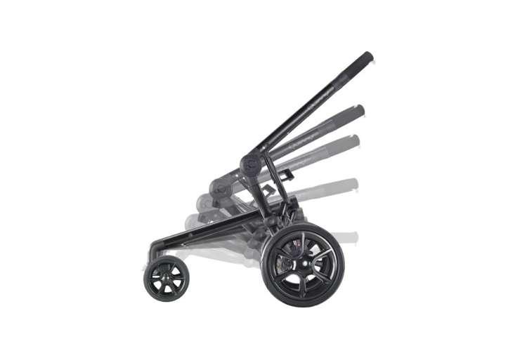 CV078BFO + Spirit-Black�Quinny Moodd Baby Stroller & BabyBjorn Carrier - Original, Spirit - Black