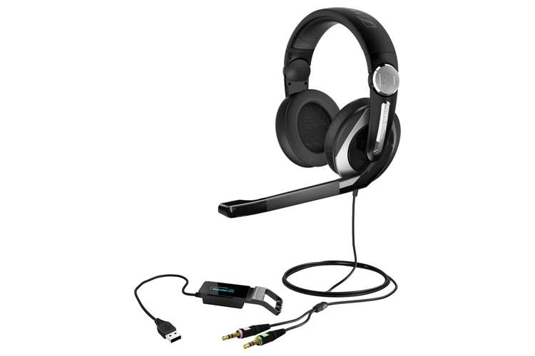 PC333D�Sennheiser PC 333D PC Gaming Headset with 7.1 Channel Surround Sound