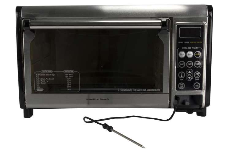 Hamilton beach set forget 31230 toaster oven with for Hamilton beach pioneer woman slow cooker