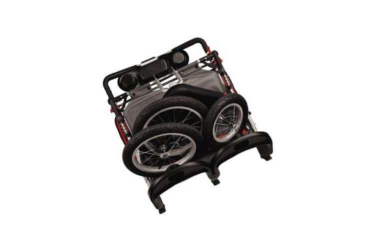 13-SC213�Schwinn Turismo Double Jogging Swivel Stroller | SC213