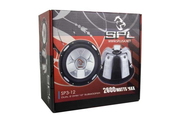 SP312�SPL AUDIO 12-Inch 2600W Subwoofer