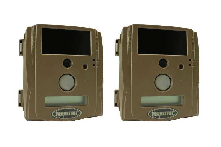 LX50-BLX�(2) Moultrie Game Spy LX50-BLX 5.0 MP Black Flash Trail Cameras