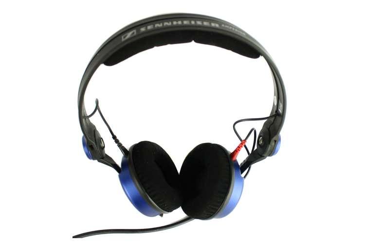 AMPBLUE-RB�Sennheiser HD 25 Amperior DJ Pro Monitoring Headphones - Blue (Refurbished)